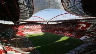Estádio da Luz em Lisboa.