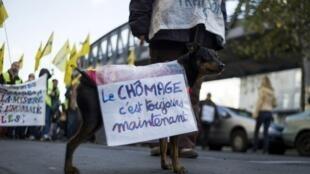 A maioria dos franceses não acredita na promessa do presidente François Hollande de que a curva de ascensão do desemprego vai se inverter até o final de 2013.