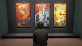 """Bộ tranh """"Résistance, Résurrection, Libération"""" tại bảo tàng Chagall"""