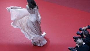 The red carpet in Cannes
