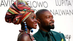 Actors Lupita Nyong'o and David Oyelowo attend the 'Queen Of Katwe' Virgin Atlantic Gala screening during the 60th BFI London Film Festival on October 9, 2016