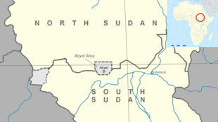 The Abyei disputed region