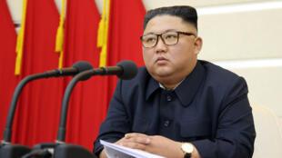 """Kiongozi wa Korea Kaskazini Kim Jong-un anadai kuwa nchi yake ina """"silaha mpya ya kimkakati""""."""