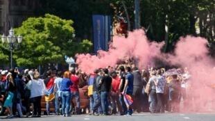 Manifestações da oposição ganham força na Armênia