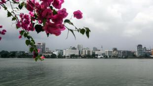 Une vue d'Abidjan, en février 2014.
