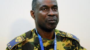 Le general Gilbert Diendéré, à Ouagadougou, le 25 juillet 2014 (photo d'archives).