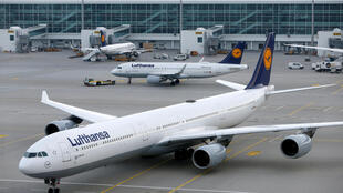 存档图片:德国汉莎航空暂停与中国之间的客机航班 Image d'archive: Germany's Lufthansa said on Jan. 29 it was suspending Lufthansa, Swiss and Austrian Airlines flights to and from China until Feb. 9. 2020