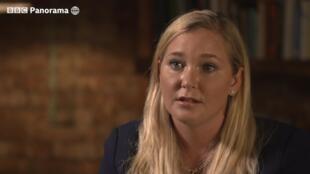 Virginia Roberts en una imagen del programa 'Panorama' de la BBC difundido este 2 de diciembre de 2019.