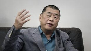 Media tycoon and pro-democracy activist Jimmy Lai during an interview in 2015.