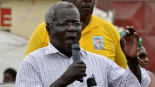 Le leader de l'opposition mozambicaine, Afonso Dhlakama, ici en 2009, est décédé à l'âge de 65 ans ce jeudi 3 mai 2018.