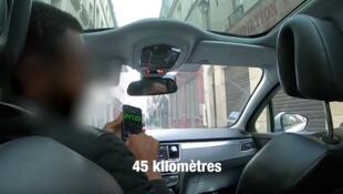 Vídeo postado no YouTube mostra táxi clandestino que queria cobrar € 250 por uma corrida, que valia apenas € 50.