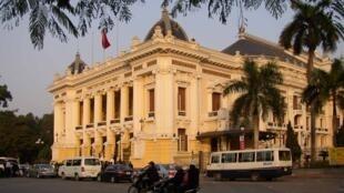 Nhà hát lớn Hà Nội. Ảnh minh họa.