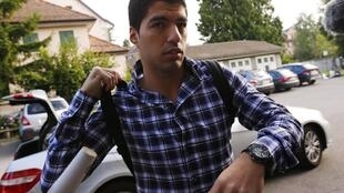 Suárez compareceu à sede do Tribunal Arbitral do Esporte (TAS), em Lausanne, na Suíça.