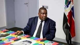 Ossufo Momade, coordenador interino da Renamo, principal partido da oposição em Moçambique,