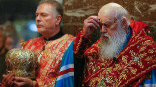 El patriarca Filarete, líder de la Iglesia ortodoxa ucraniana.