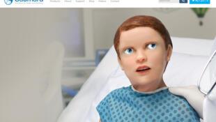 Hal, l'enfant robot dans lequel un vaste registre de symptômes ont été intégrés, offre aux apprentis chirurgiens, pédiatres et médecins de s'exercer à établir un bon diagnostic.
