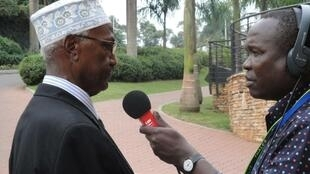 Somali Foreign Minister Yusuf Dheg, speaking to RFI at the AU summit in Kampala