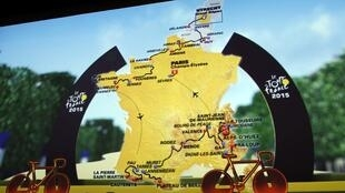 The 2015 Tour de France route was unveiled in Paris on Wednesday