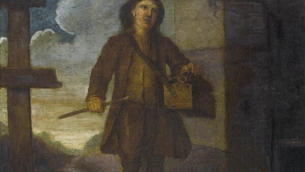 An 18th century French rat catcher