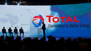 Signing ceremony on a gas exploration contract between Lebanon and Total, 9 February 2018 in Beirut