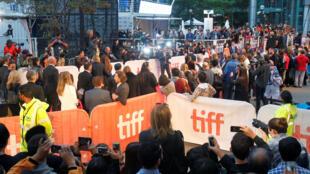 Lors de l'ouverture du Festival international du film de Toronto, le 7 septembre 2017.