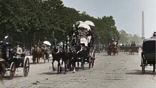 Captura de pantalla del documental 'Une si belle époque! : La France d'avant 1914'.