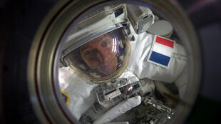 France's astronaut Thomas Pesquet