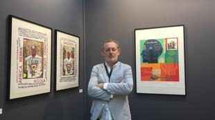 Director da galeria Espaço Luanda Arte, Dominick Maia-Tuner