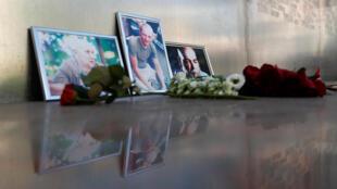 Фотографии Александра Расторгуева, Кирилла Радченко и Орхана Джемаля в Центральном доме журналиста в Москве, 1 августа 2018