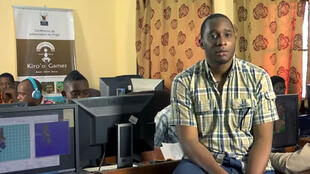Olivier Madiba PDG de Kiro'o Games, est le créateur du premier jeu vidéo 100% camerounais (capture d'écran).