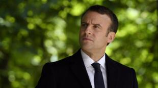 法国新当选总统马克龙