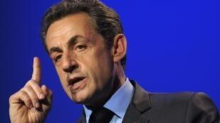 Nicolas Sarkozy não se exprimia oficialmente em público desde 2012.