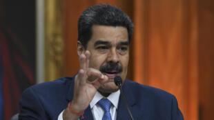 نیکلاس مادور رئیس جمهوری ونزوئلا