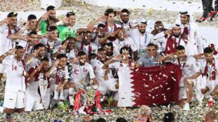 Đội tuyển bóng đá Qatar, vô địch Cúp bóng đá châu Á 2019.