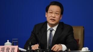項俊波曾是中國保監會(CIRC)一號人物2016年3月12日北京