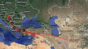 A Rota dos Balcãs