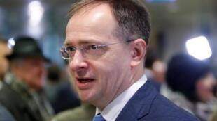Экс-министр культуры России Владимир Мединский