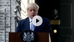 英国新首相约翰逊