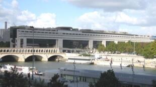 Le siège du ministère de l'Economie et des Finances à Bercy, Paris.