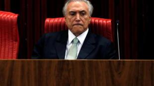 Michel Temer, Brasilia, 12 de maio de 2016.