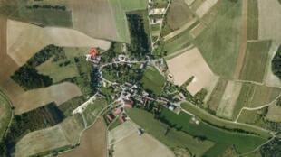 Mouffy village, Burgundy