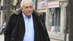 Dominique Strauss-Kahn à Paris, le 10 décembre 2012.