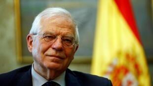 O chanceler espanhol, Josep Borrell, em 20 de março de 2019.