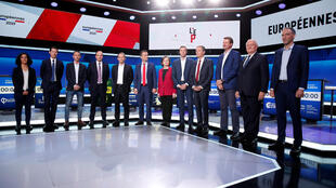 Os doze cabeças de lista às eleições europeias em França