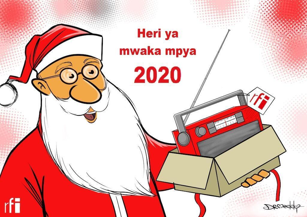 RFI inakutakia Krismasi njema na mwaka mpya 2020 wenye fanaka.(26/12/19)