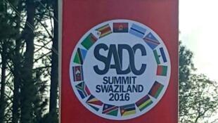 Anúncio da Cimeira da SADC na suazilândia