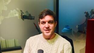 Kevin Powers, écrivain américain en studio à RFI (décembre 2019).