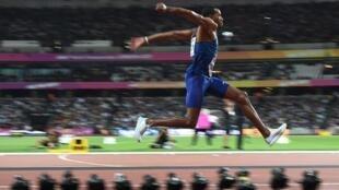 Christian Taylor won gold in men's triple jump.