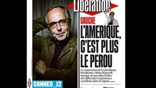 Capa do jornal francês Liberation desta sexta-feira 13 de maio de 2016