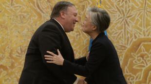 دیدار وزرای امورخارجه آمریکا و کره جنوبی در سئول